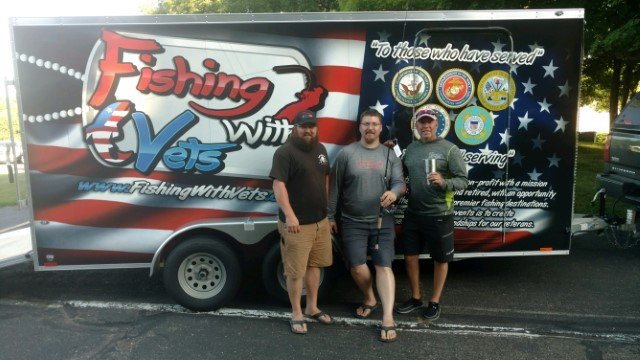 Fishing with vets